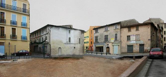 La Place Bourradet - Avant